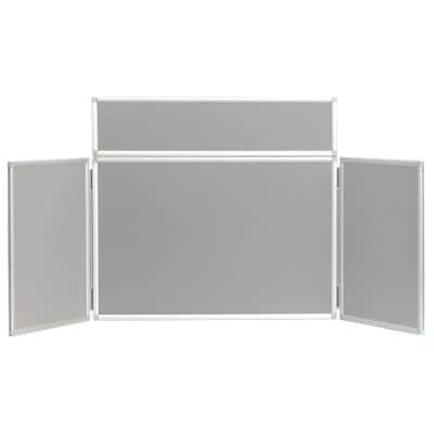 Tabletop Display Stand 532696 Grey 923 x 223 mm