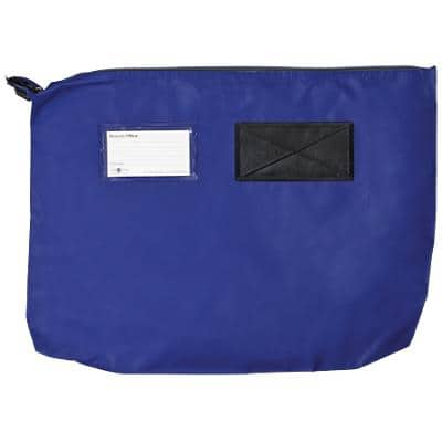 Val-U-Mail Mailing Pouch 350 x 490mm Zip Blue