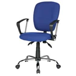 Realspace Office Chair Atlas synchro tilt Blue