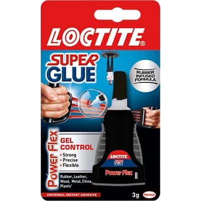 Loctite Super Glue Ultra Gel Control Transparent 3g