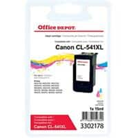 Office Depot Compatible Canon CL-541 XL Ink Cartridge 3 Colours
