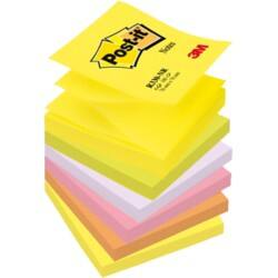 Post-it® Z-Notes 76 x 76 mm Assorted 6 Pads Per Pack