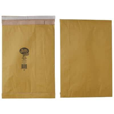 Jiffy Padded Envelopes PB6 90 g/m² Brown Plain Peel and Seal 295 x 458 mm Pack of 50