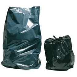 Niceday heavy-duty refuse sacks black 975 x 725 mm (h x w) pack of 200