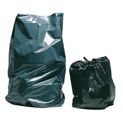 niceday Refuse Sacks 70 L Black 72.5 x 97.5 cm 200 Pieces
