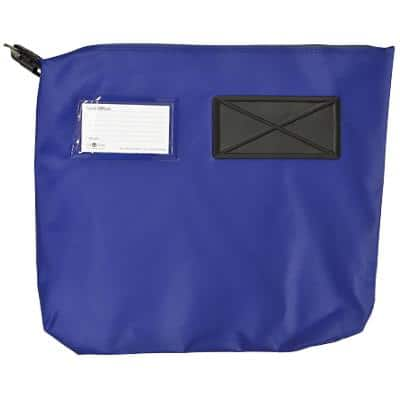 Val-U-Mail Mailing Pouch 380 x 335mm Zip Blue