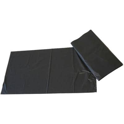 Paclan Refuse Sacks Medium Duty 100 L Black 73.7 x 45.7 x 96.5 cm Pack of 200