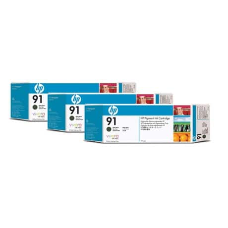 HP 91 Original Ink Cartridge C9480A Matte Black 3 pieces
