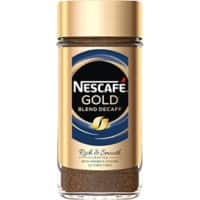 NESCAFÉ Gold Blend Rich & Smooth Instant Coffee Jar Decaffeinated 200g