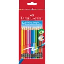 Faber-Castell Erasable Colouring Pencils Pack of 12