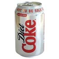 Coca-Cola Diet Soft Drink Can 330ml Pack of 24
