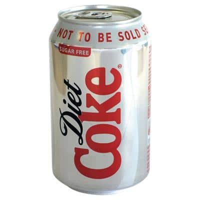 Coca-Cola Diet Can 24 Pieces of 330 ml