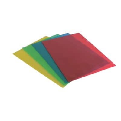 Office Depot Cut Back Folder A4 Assorted Polypropylene 120 Micron 100 Pieces