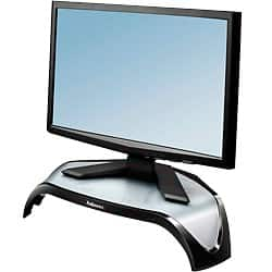 Fellowes Monitor Stand Smart Suites Monitor Riser Black, Silver
