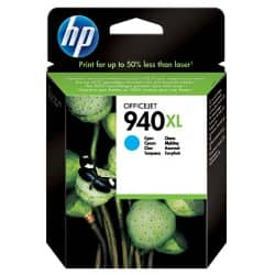 HP 940XL Original Ink Cartridge C4907AE Cyan