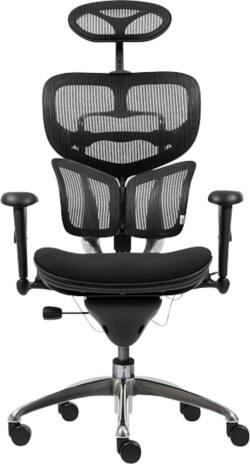 Mesh Office Chairs Ergonomic Headrest Options Viking Direct Uk