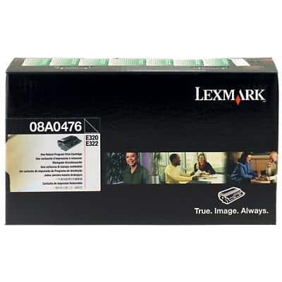 Lexmark 08A0476 Black Laser Toner Cartridge, 8A0476