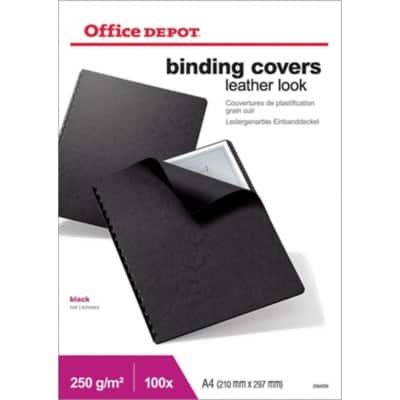Office Depot Binding Covers A4 100 Pieces