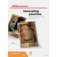 Office Depot Laminating Pouches Glossy 2 x 125 (250 Micron) A4 25 Pieces