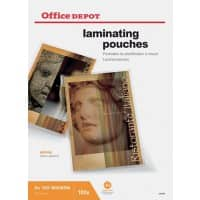 Office Depot Laminating Pouches Glossy 250 micron A3 100 Pieces
