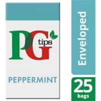 PG tips Peppermint Tea Bags 25 Pieces