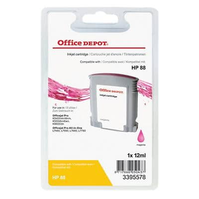 Office Depot Compatible HP 88 Ink Cartridge C9387AE Magenta