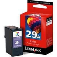 Lexmark 29A Cyan, Magenta, Yellow Printer Ink Cartridge 18C1529