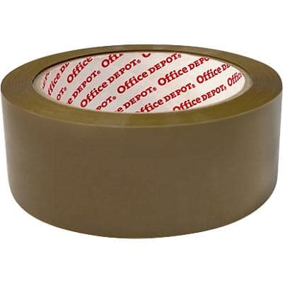 Office Depot Packaging Tape 38mm x 66m Brown