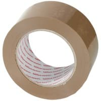 Office Depot Packaging Tape Heavy Duty 50mm x 100m Brown 6 Rolls