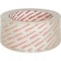 Office Depot Heavy Duty Packaging Tape 48 mm x 66 m Transparent