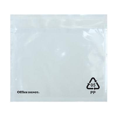 Office Depot Document Enclosed Envelopes C7 115 (W) x 81 (H) mm Self-Adhesive Plain Pack of 250
