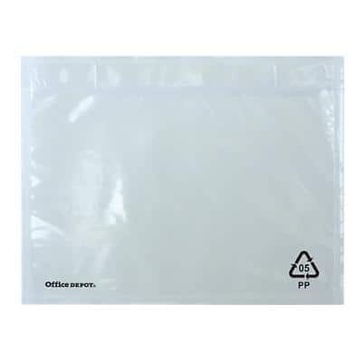 Office Depot Document Enclosed Envelopes C6 162 (W) x 115 (H) mm Self-Adhesive Plain Pack of 250