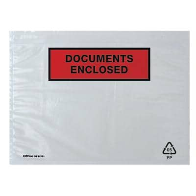 Office Depot Document Enclosed Envelopes C5 229 x 162 mm Printed Box of 250