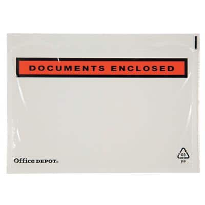 Office Depot Document Enclosed Envelopes C6 162 (W) x 115 (H) mm Self-Adhesive Printed Pack of 250