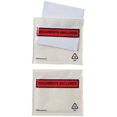 Office Depot Document Enclosed Envelopes C7 115 x 81 mm Printed 250 Per Box