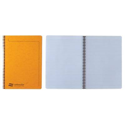Europa A4 Wirebound Assorted Cardboard Cover Notebook Ruled 120 Pages Pack of 10