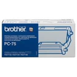 Brother Ribbon PC75B Black