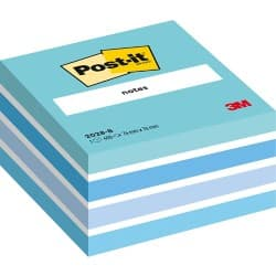 Post-it® Blue Cube (76 mm x 76 mm) 1 cube per pack