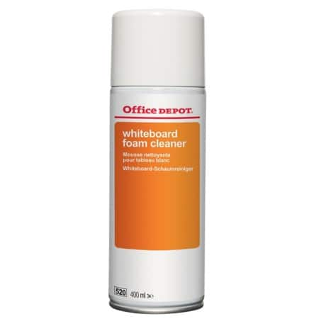 Office Depot Whiteboard Cleaner Foam White 400 ml