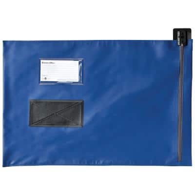 Val-U-Mail Mailing Pouch 495 x 356mm Zip Blue