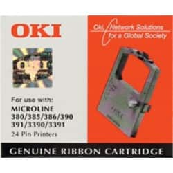 OKI Printer Ribbon 09002309 Black