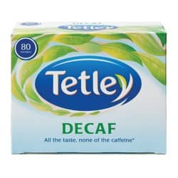 Tetley Tea Bags Decaf Pk 80