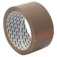 Niceday Low Noise Packaging Tape 50mm x 66m Brown 36 Rolls
