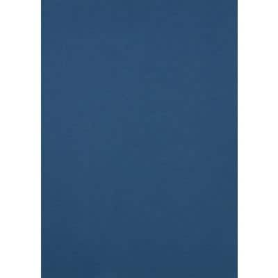 GBC Binding Covers A4 LeatherGrain 250 gsm Blue Pack of 100