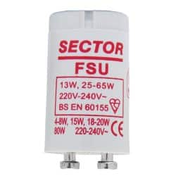 Fluorescent Tube Starters 40-80 Watts
