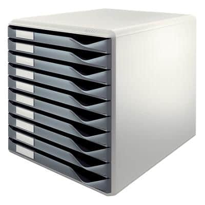 Leitz Drawer Unit Form Set Dark Grey 29 x 35.5 x 28.5 cm