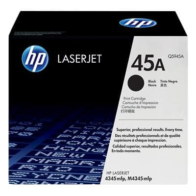 HP 45A Original Toner Cartridge Q5945A Black