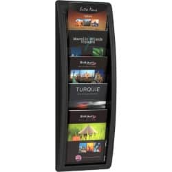 Paperflow Quick-fit five-pocket A5 wall display