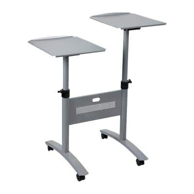 Nobo Multimedia Projection Trolley 1900791 Twin Platform