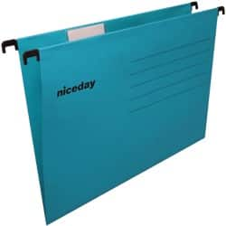 Niceday Flex Suspension File A4 Blue - Box 25